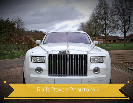 Rolls Royce Phantom Hire York