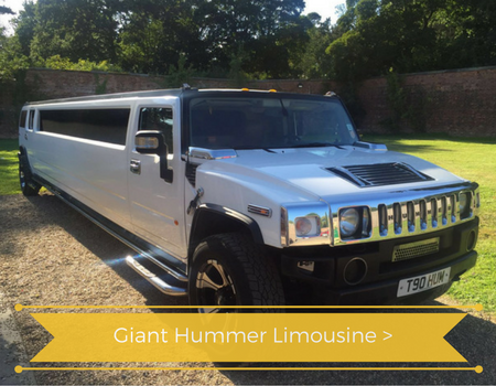 Hummer limo Sheffield