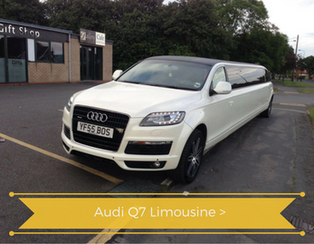 Audi Q7 Limo Hire in Yorkshire