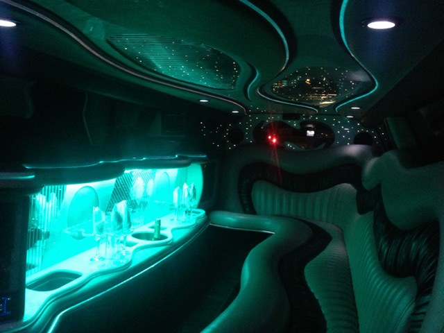 Interior limo hire