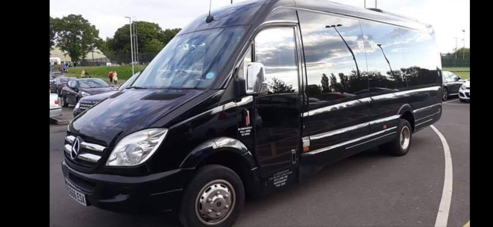 party bus hire in Yorkshire